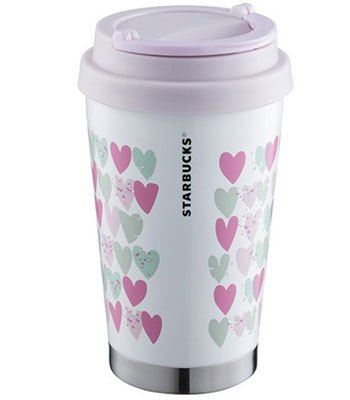 Starbucks Corporation - 12OZ心連心不鏽鋼杯-1入