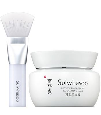 sulwhasoo - 滋晶雪瀅磨砂面膜-80ml