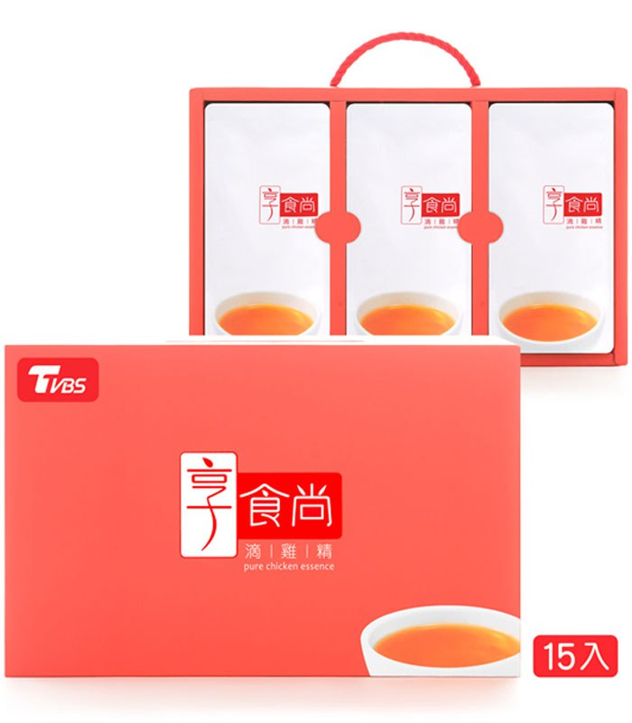 MyHuo Recommended Snacks - 享食尚滴雞精-60mlx15