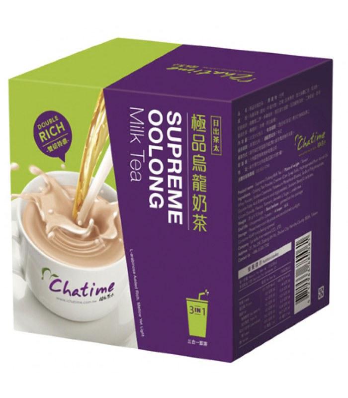Chatime - 六角日出茶太三合一即溶- 極品烏龍奶茶-35gx12包入