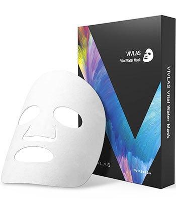 VIVLAS - 茶秘保濕面膜-5片
