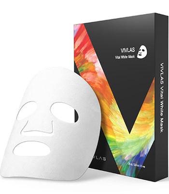 VIVLAS - 茶秘美白面膜-5片