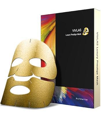VIVLAS - 茶秘奢華水潤面膜-5片
