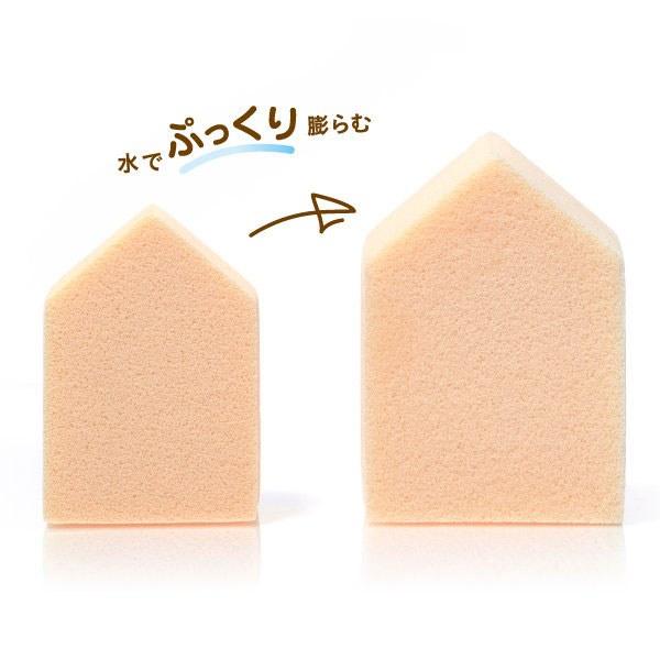 ROSY ROSA - 果凍感低敏粉撲五角形N  - 6入