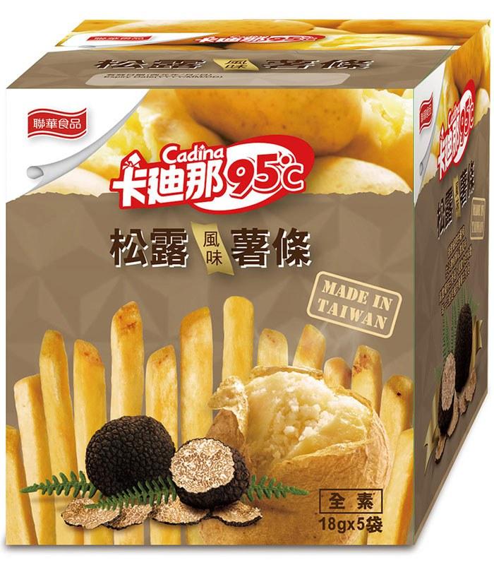 KGCHECK 聯華食品 - 卡迪那95℃松露風味薯條  - 18gx5包