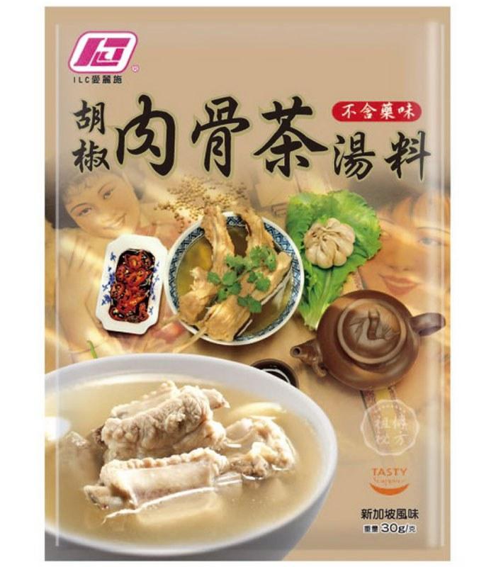 MyHuo Recommended Snacks 買貨推薦零食 - 獅城胡椒肉骨茶湯料  - 30g