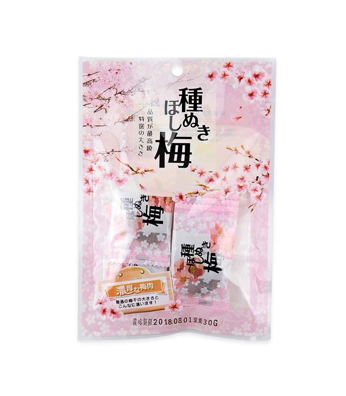 MyHuo Recommended Snacks 買貨推薦零食 - 宅間 特厚無籽梅乾  - 100g