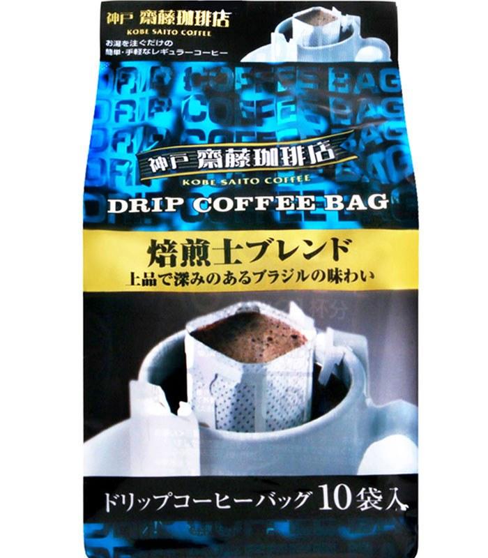 Japanese snacks 日本零食館 - 神戶haikara 齊藤珈琲店-神戸原味咖啡  - 80g