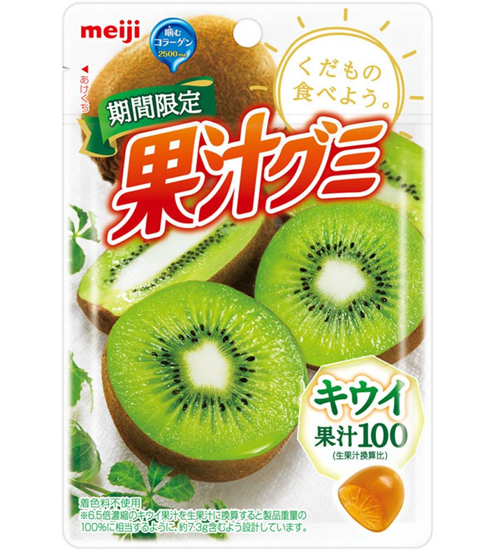 Meiji 明治 - 果汁QQ軟糖 - 47g