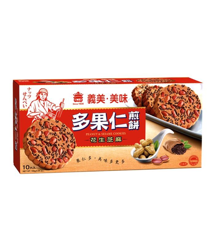 義美 - 美味多果仁煎餅-花生芝麻  - 160g