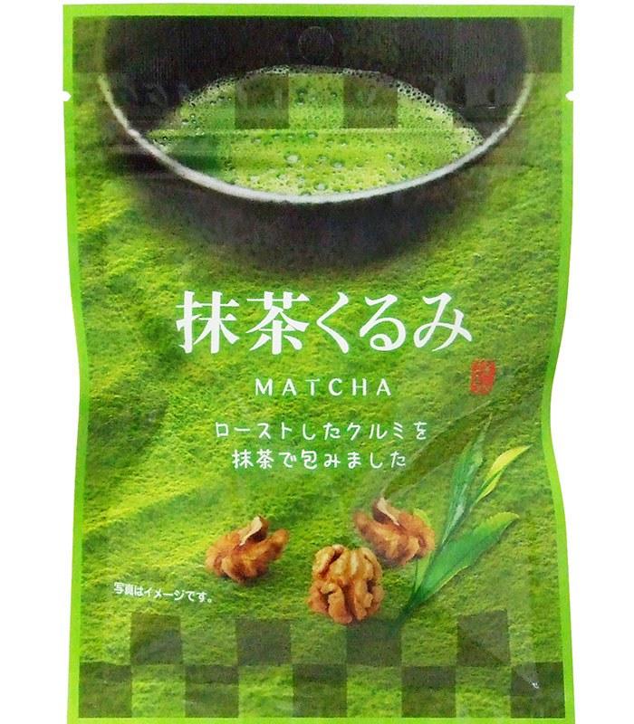 Japanese snacks 日本零食館 - 抹茶胡桃  - 30g