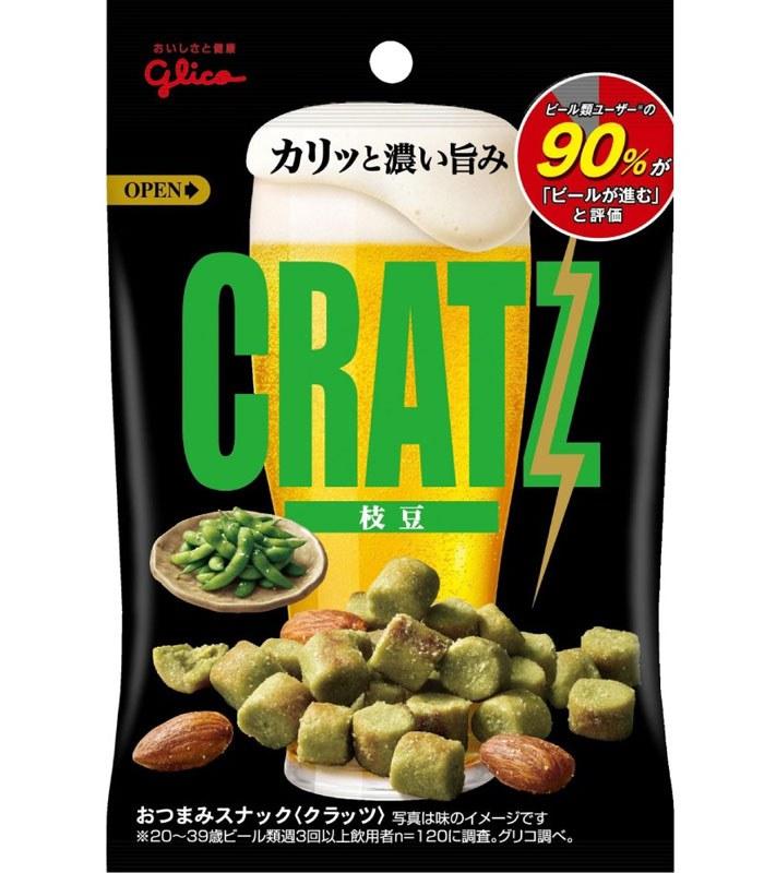 glico 格力高 - 卡滋脆餅毛豆  - 42g