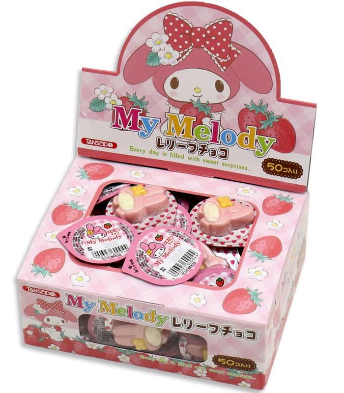 Japanese snacks 日本零食館 - 丹生堂本舗 美樂蒂Melody 草莓巧克力  - 300g