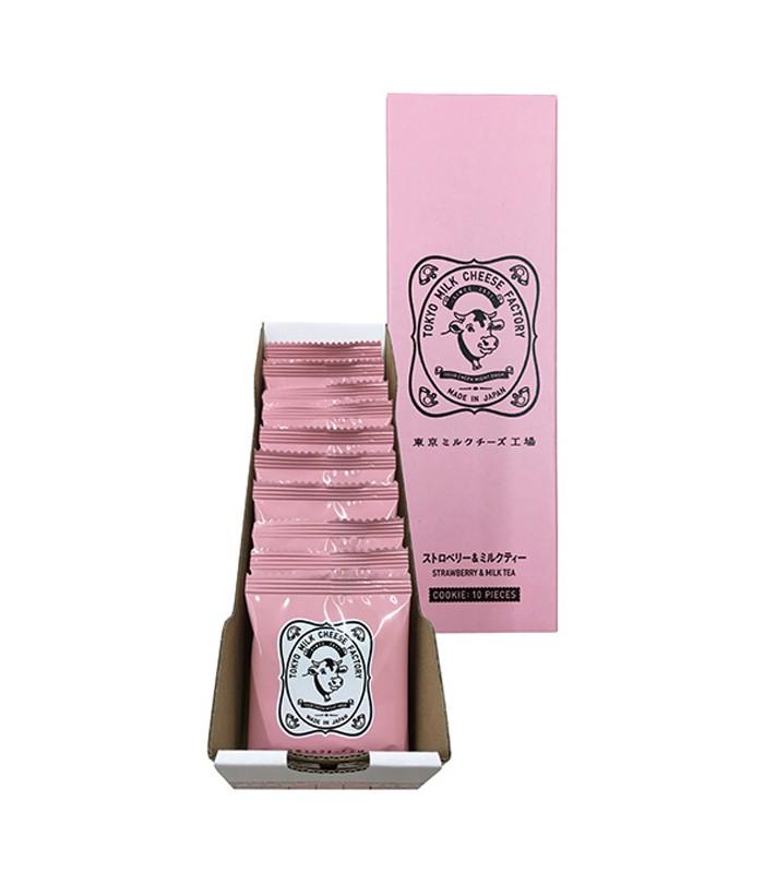 Japan buyer 日本直購專區 - 【限量版】TOKYO MILK CHEESE FACTORY  草莓奶茶起司餅乾  - 10入