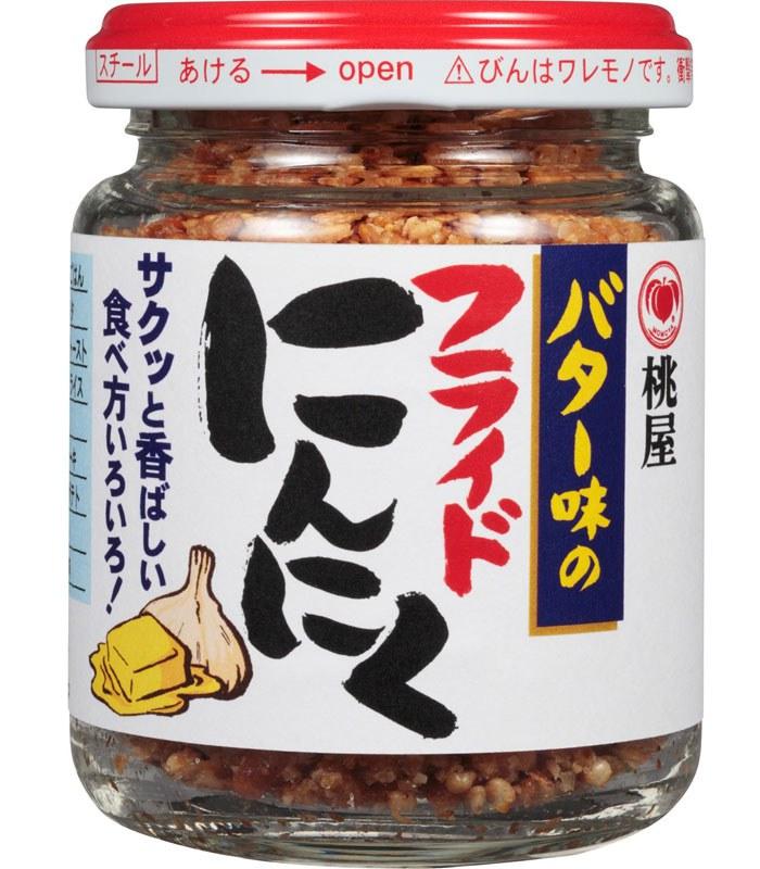Japanese snacks 日本零食館 - 桃屋 屋芝麻蒜酥-奶油風味  - 58g