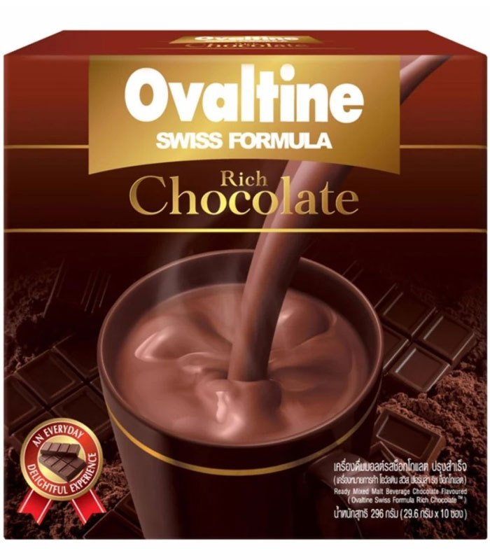 MyHuo Recommended Snacks 買貨推薦零食 - 阿華田 瑞士風味巧克力飲品  - 10入
