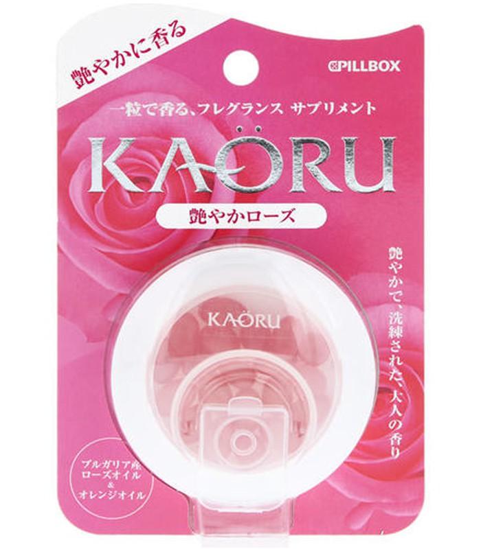 Japan buyer_makeup 日本美妝專區 - KAORU口服玫瑰精油膠囊 - 20粒