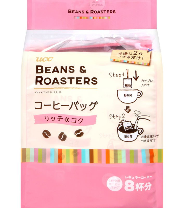 MyHuo Recommended Snacks 買貨推薦零食 - UCC Beans濾式咖啡-濃郁  - 56g