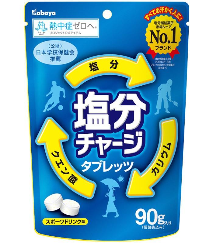 Japan buyer 日本直購專區 - Kabaya運動必備防中暑鹽糖 - 90g
