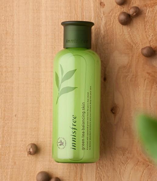 Innisfree 悅詩風吟 - [限量加大版]綠茶水平衡調理液(隨機出貨)  - 400ml