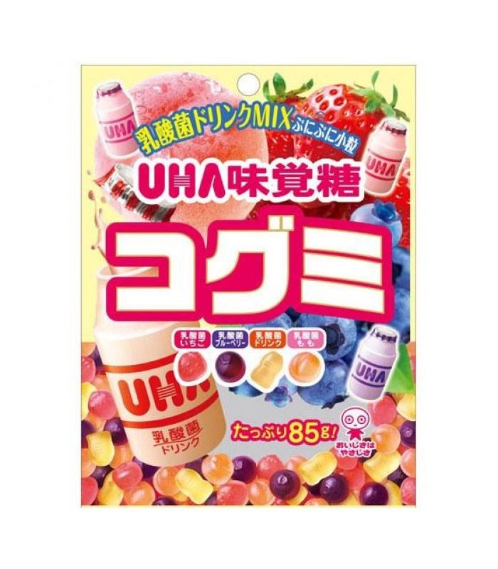 UHA 味覚糖 - 酷Q彌軟糖-乳酸飲料味  - 55g