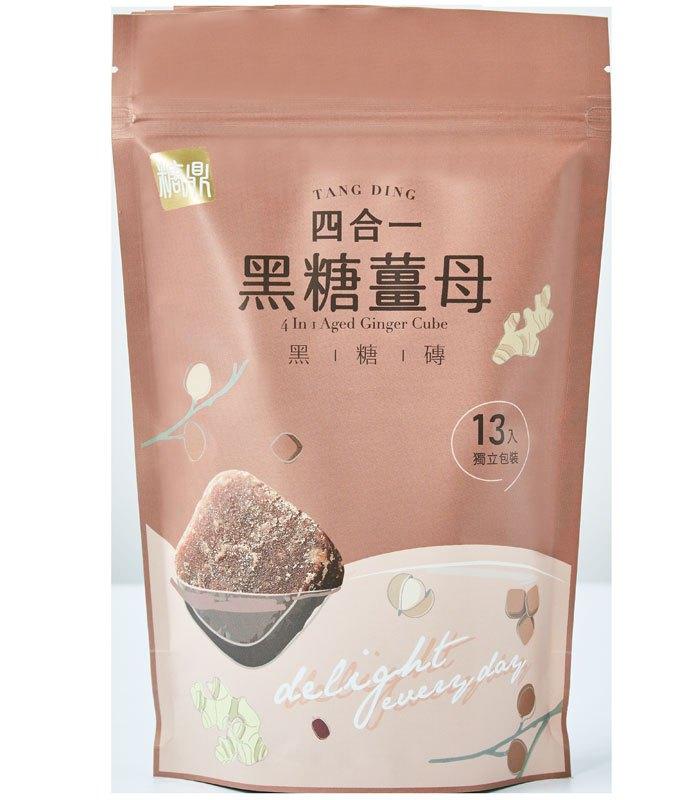 糖鼎養生黑糖磚 - 四合一黑糖薑母茶 - 30gx13