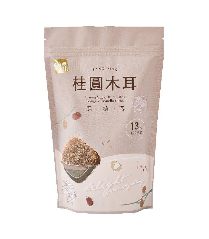 糖鼎養生黑糖磚 - 桂圓木耳 - 30gx13