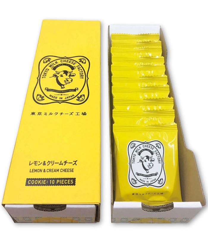 Japan buyer 日本直購專區 - 【限量版】TOKYO MILK CHEESE FACTORY  檸檬起司餅乾  - 10入