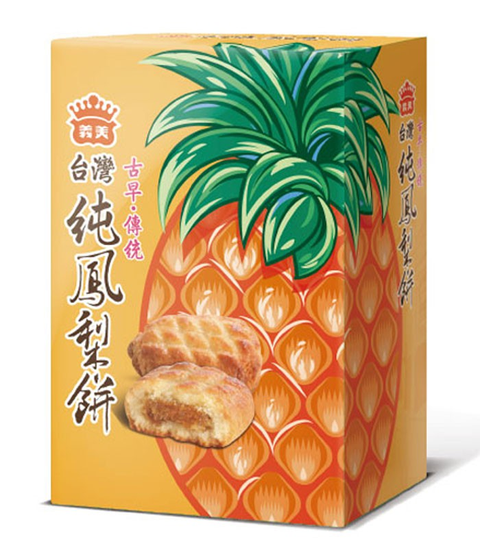 義美 - 純鳳梨餅  - 12入