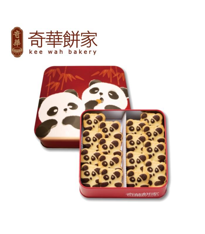 Kee Wah Bakery 奇華餅家 - 熊貓曲奇禮盒  - 16入