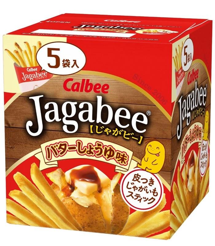 calbee 日本加樂比 - 加卡比薯條 - 5入