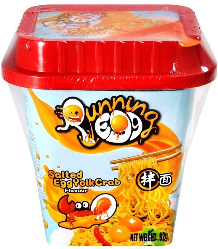 湯 / 乾拌麵 - ARE Foods 鹹蛋黃蟹風味炒麵 乾拌麵  - 92g