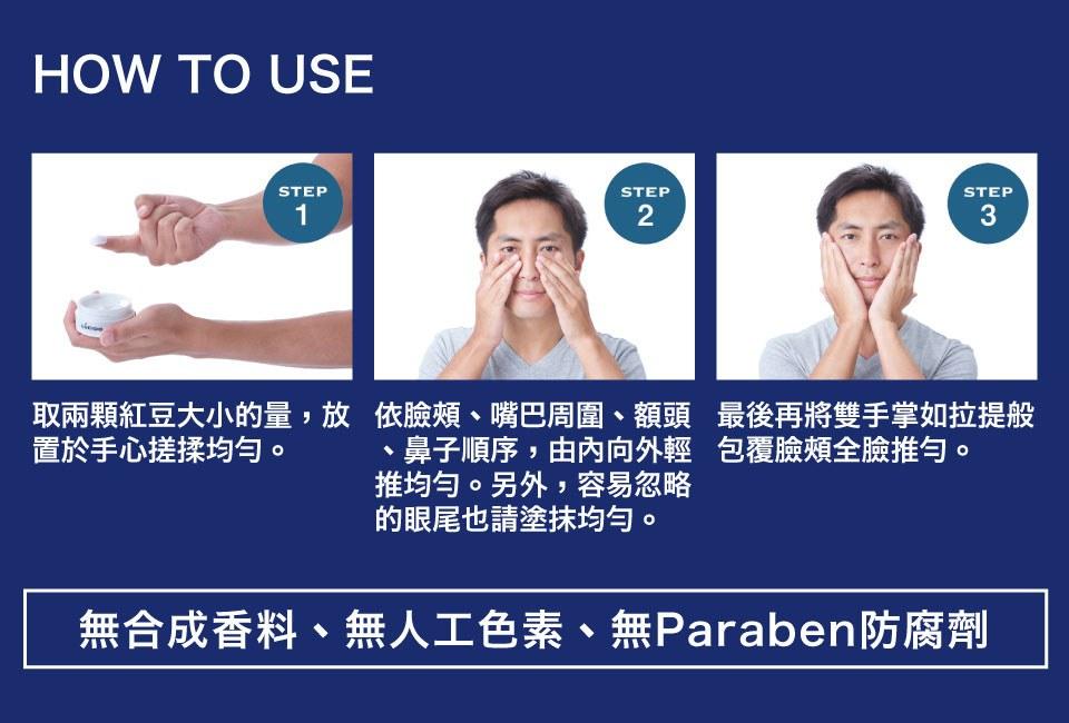MYHUO Skincare Collection 買貨推薦保養 - 倫士度 男性全方位保養乳霜  - 50g