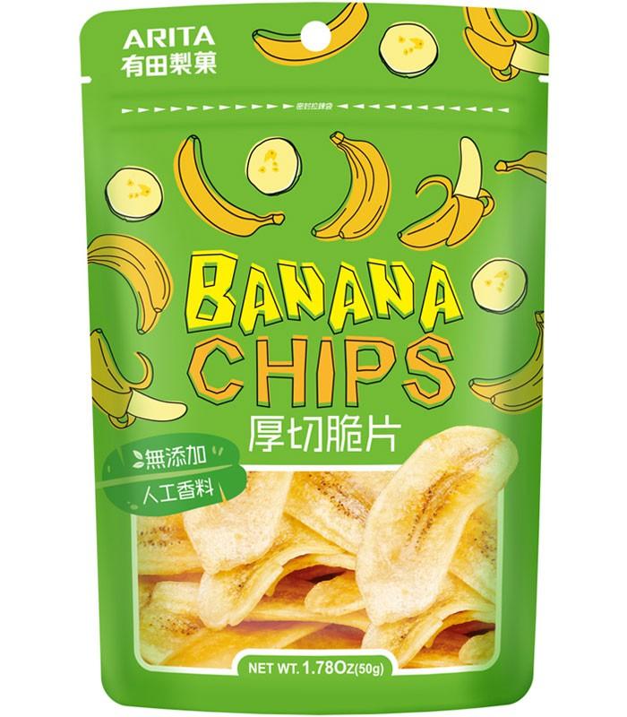 Japanese snacks 日本零食館 - 香蕉脆片  - 50g