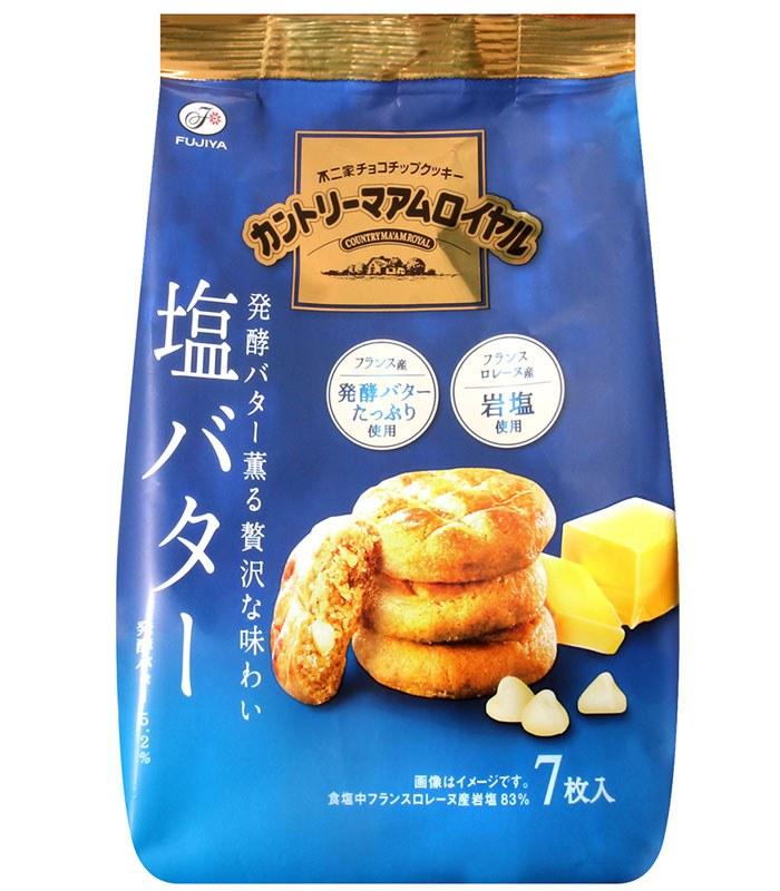 不二家 - 鄉村餅 鹽味奶油風味  - 84g