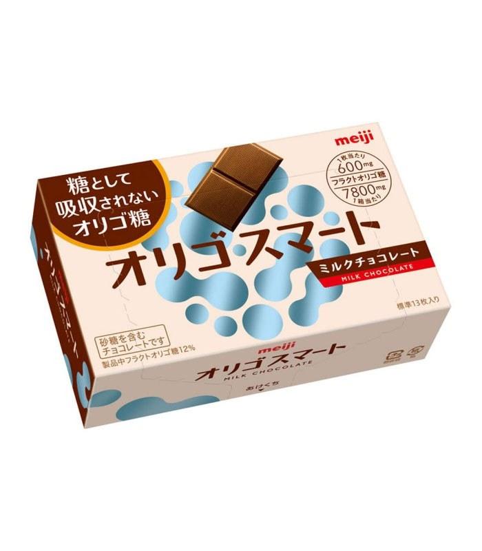 Meiji 明治 - 果寡糖代可可脂牛奶巧克力盒裝  - 65g
