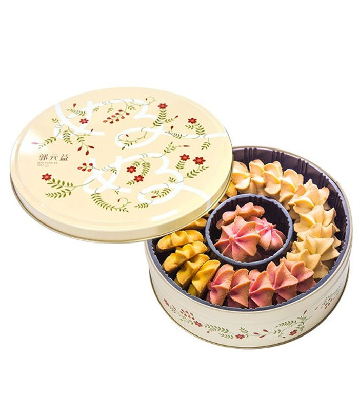 Kuo Yuan Ye 郭元益 - 【新年禮盒】美好時光奶酥餅乾  - 182g
