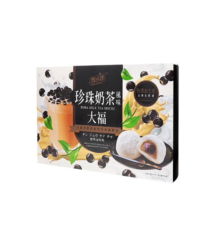 MyHuo Recommended Snacks 買貨推薦零食 - 雪之戀 珍珠奶茶風味大福盒裝  - 12入