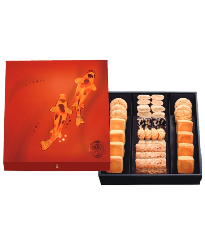 Kee Wah Bakery 奇華餅家 - 【新年禮盒】喜迎春禮盒 (預計12/30陸續出貨)  - 1組