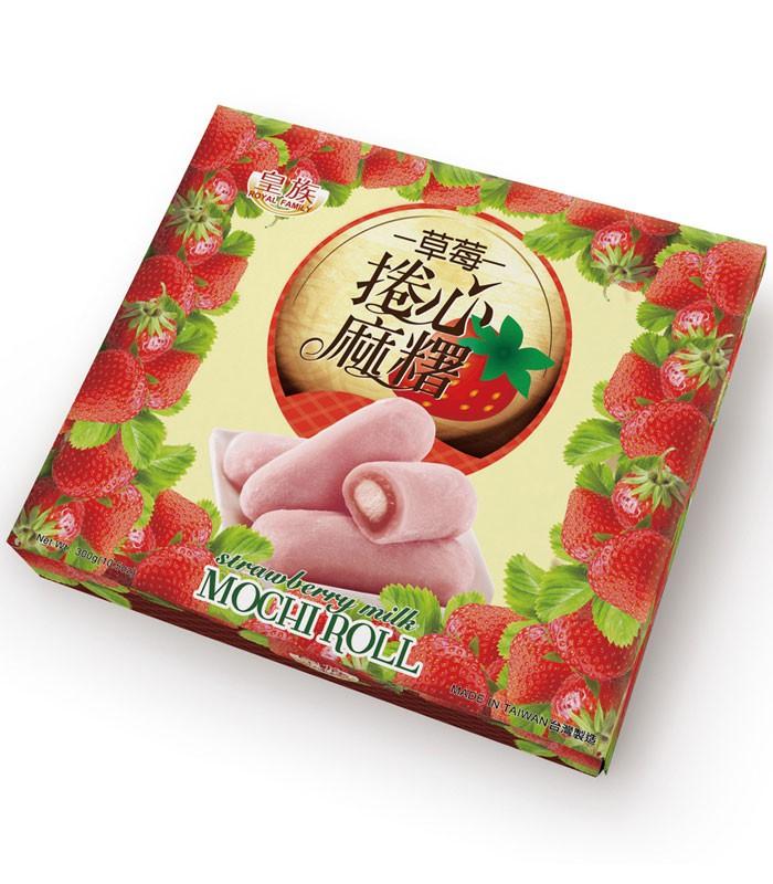 皇族 - 草莓捲心麻糬  - 300g