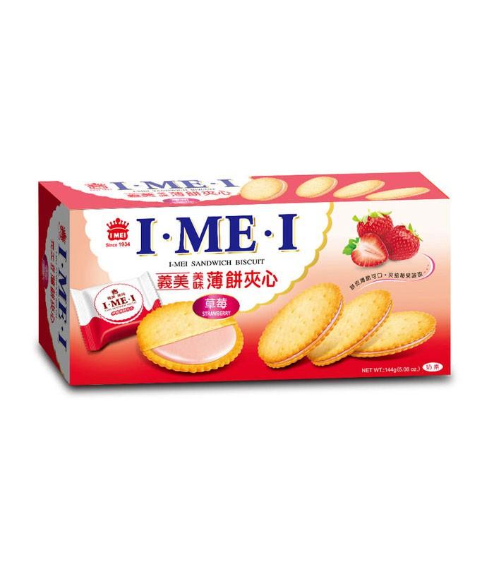 義美 - 美味薄餅夾心 - 144g