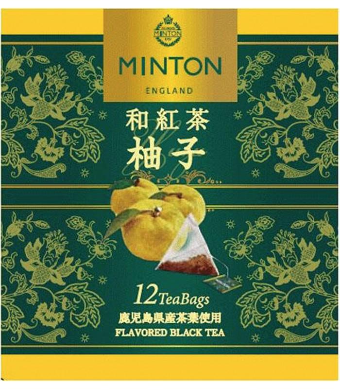 Japan buyer 日本直購專區 - 日本MINTON柚子和紅茶  - 12入