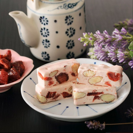 Cherry-Grandfather 櫻桃爺爺 - 愛戀草莓牛軋糖  - 230g