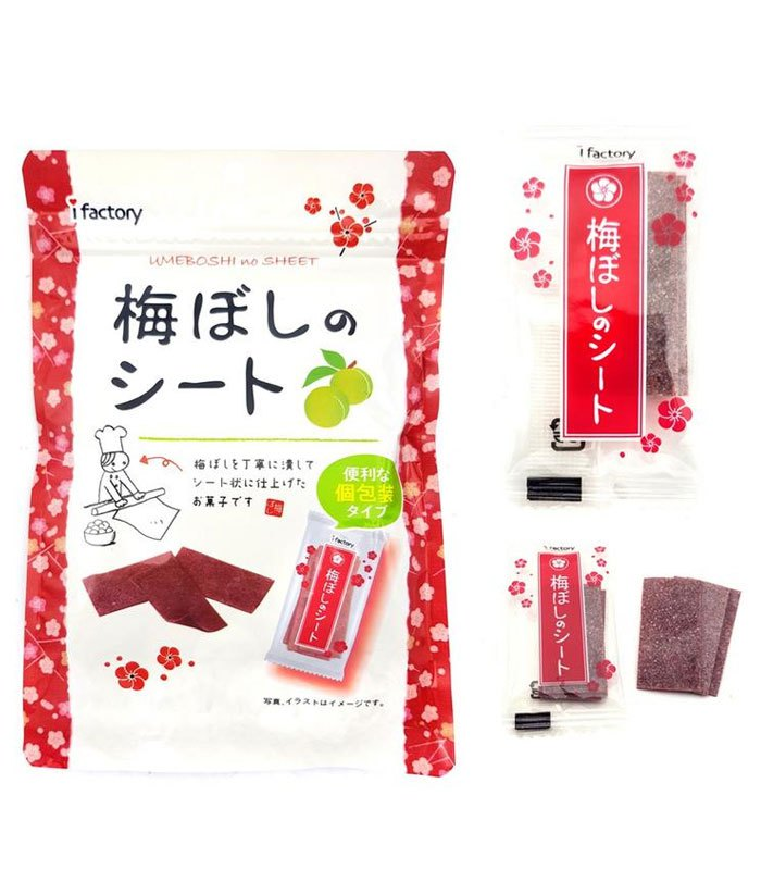 Japanese snacks 日本零食館 - iFACTORY 好好吃梅片 大包裝 - 40g