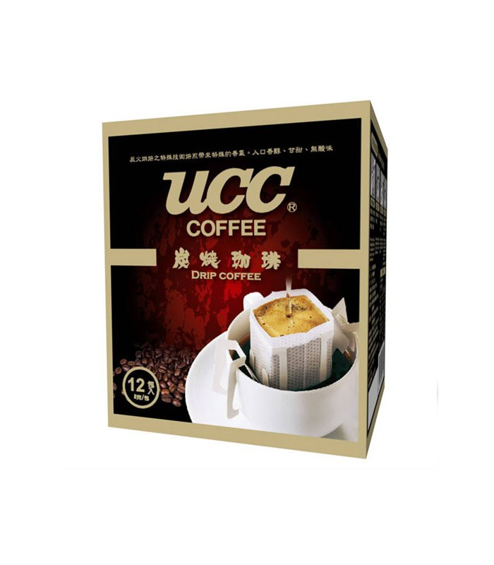 日藥本舖 - 【UCC】炭燒濾掛式咖啡  - 8gx12入