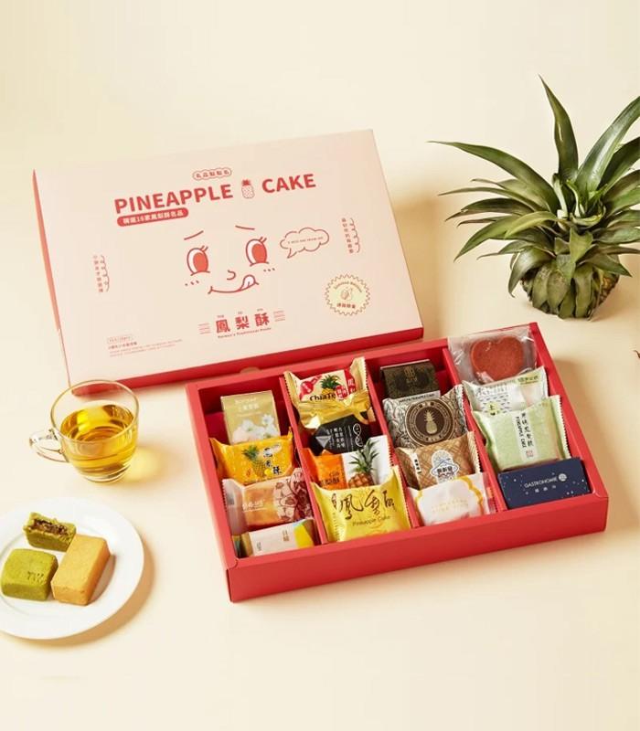 MyHuo Recommended Snacks 買貨推薦零食 - 鳳梨酥夢幻盒  - 16入