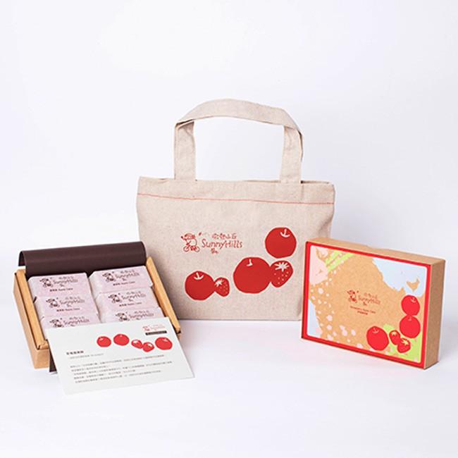 SunnyHills 微熱山丘 - 草莓蘋果酥  - 6入