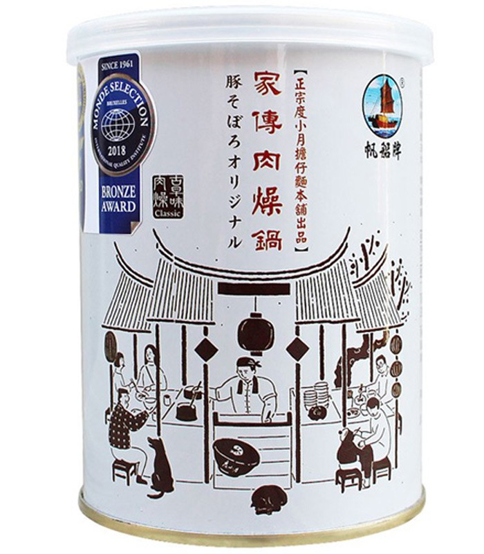MyHuo Recommended Snacks 買貨推薦零食 - 帆船牌 度小月古早味肉燥  - 300g