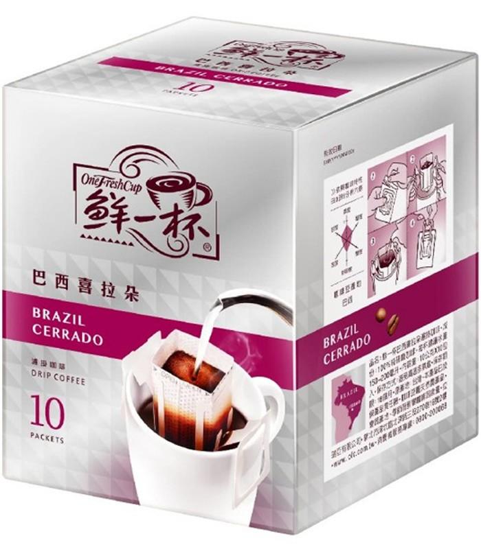 One Fresh Cup 鮮一杯 - 巴西喜拉朵濾掛咖啡  - 10gX10