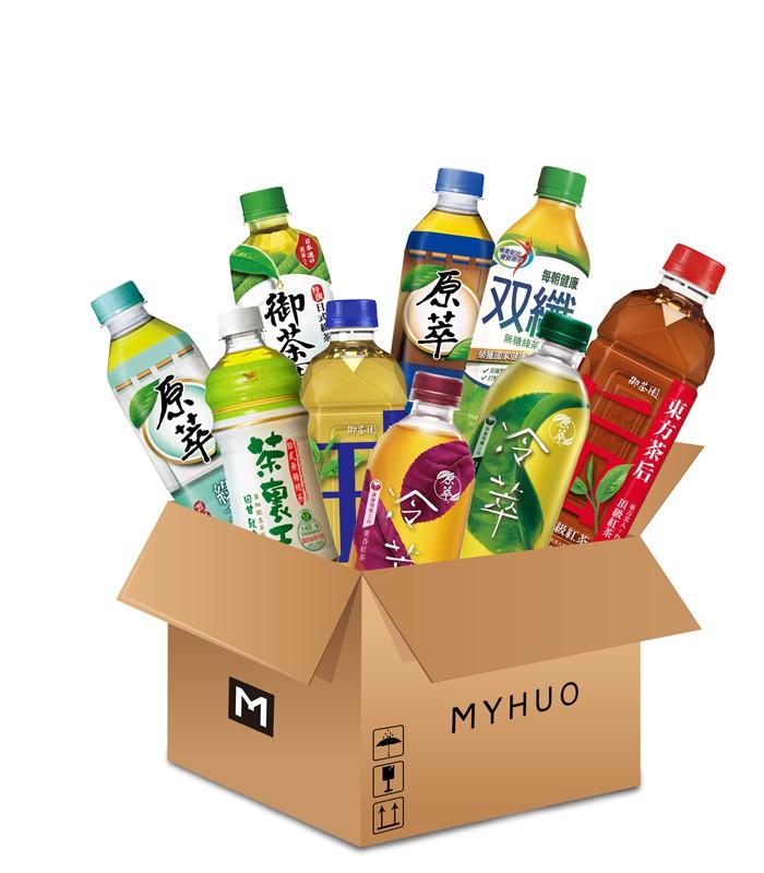 MyHuo Recommended Snacks 買貨推薦零食 - 便利商店好好買飲料箱 - 無糖 - 1組